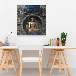 Canvas 24 x 24 - Grand buddha at lingshan scenic area in china