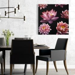 Canvas 24 x 24 - Lotus flower pattern