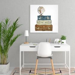 Canvas 24 x 24 - Go around the world