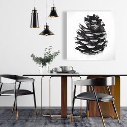 Canvas 24 x 24 - Pine cone