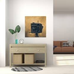 Canvas 24 x 24 - Vintage camera