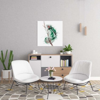 Watercolor chameleon