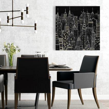 Illustrative city towers