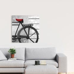 Canvas 24 x 24 - Rear bicycle