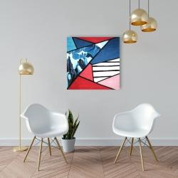 Canvas 24 x 24 - Diagonal unity