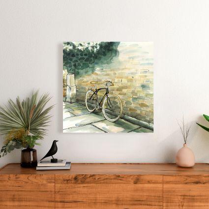 Old urban bicycle