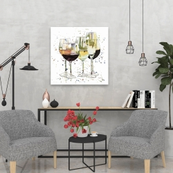 Beautiful wine glasses