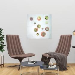 Canvas 24 x 24 - Cactus plants