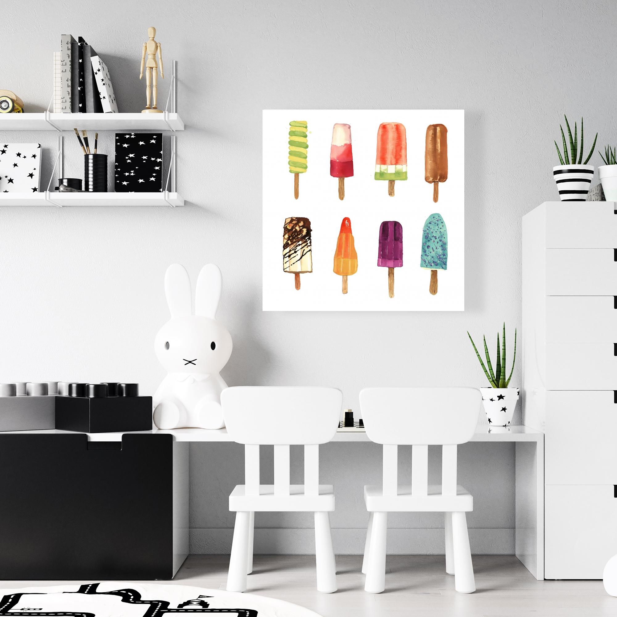 Canvas 24 x 24 - Iced lollipop