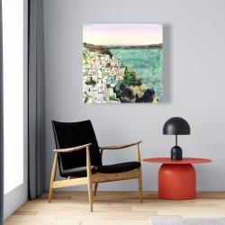 Canvas 24 x 24 - Landscape of crete