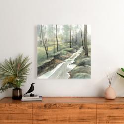 Canvas 24 x 24 - Waterfall