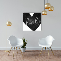 Canvas 24 x 24 - Lovely
