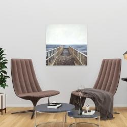 Canvas 24 x 24 - Relaxing beach