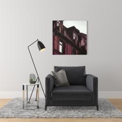 Canvas 24 x 24 - Architectural building