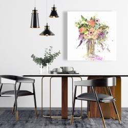 Canvas 24 x 24 - Romantic bouquet