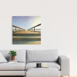 Canvas 24 x 24 - Footbridge