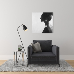 Toile 24 x 24 - Femme chic