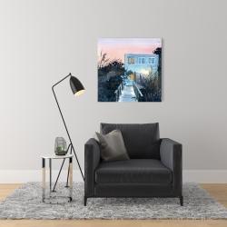 Canvas 24 x 24 - Beach house
