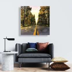 Canvas 24 x 24 - Long road