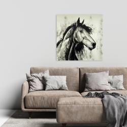 Toile 24 x 24 - Cheval spirit