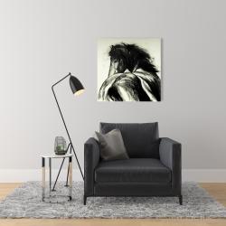 Canvas 24 x 24 - Classical horse