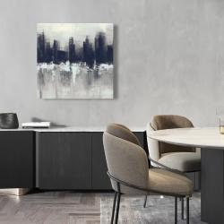 Canvas 24 x 24 - Dark city