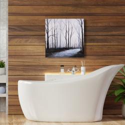 Canvas 24 x 24 - Sad forest