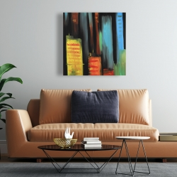 Canvas 24 x 24 - Abstract tall buildings