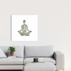 Canvas 24 x 24 - Zen attitude