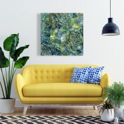 Toile 24 x 24 - Succulents abstrait