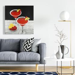 Canvas 24 x 24 - Two cosmopolitan