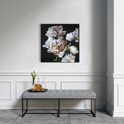 Canvas 24 x 24 - Peonies