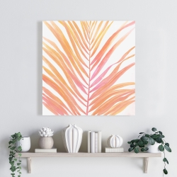 Canvas 24 x 24 - Glam palm leaf