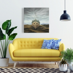 Canvas 24 x 24 - Boat