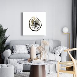 Canvas 24 x 24 - Golden geode