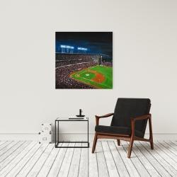 Canvas 24 x 24 - Baseball game
