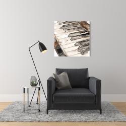 Canvas 24 x 24 - Piano