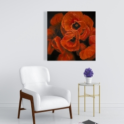 Canvas 24 x 24 - Poppy bouquet