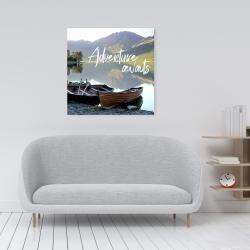 Canvas 24 x 24 - Adventure awaits