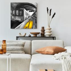 Toile 24 x 24 - Vie urbaine