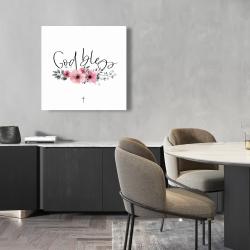 Canvas 24 x 24 - God bless
