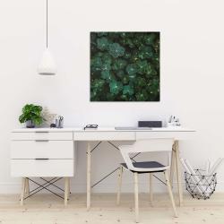 Canvas 24 x 24 - Clovers