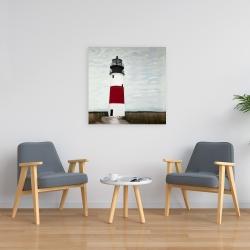 Canvas 24 x 24 - Sankaty head lighthouse