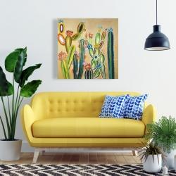 Canvas 24 x 24 - Desert gems