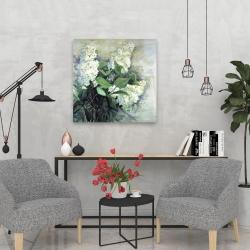 Canvas 24 x 24 - White lilacs