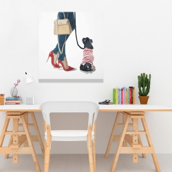 Canvas 24 x 24 - Best friends fashion