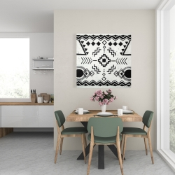 Canvas 24 x 24 - Ethnic patterns
