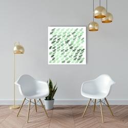 Green pattern x