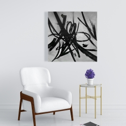 Canvas 24 x 24 - Circular strokes