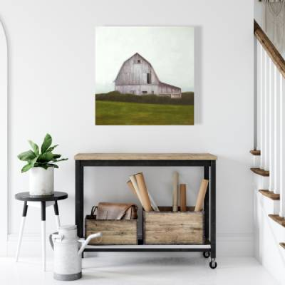 Canvas 24 x 24 - Rustic barn